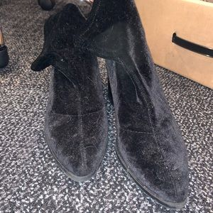 Forever 21 Shoes - Velvet Sock Boots